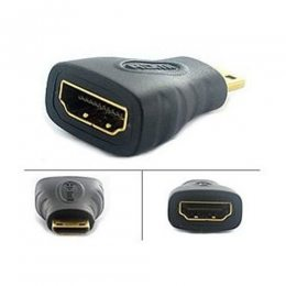 ADAPTADOR HDMI FEMEA X HDMI MINI MACHO