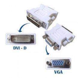 ADAPTADOR MD9 DVI-D M x VGA F 24P DUAL LINK 6748