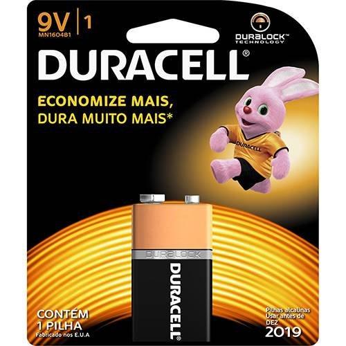 Bateria Alcalina 9v Mn160b1 Duracell