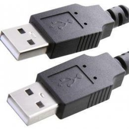 CABO USB 2.0 A MACHO X A MACHO 1,8