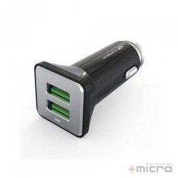 CARREGADOR VEICULAR C/2 USB 3.6A UCV-60BK C3 TECH