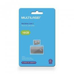 CARTAO DE MEMORIA / LEITOR USB CLASSE 4 16GB MC172