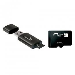 CARTAO DE MEMORIA / LEITOR USB CLASSE 4 8GB MC120