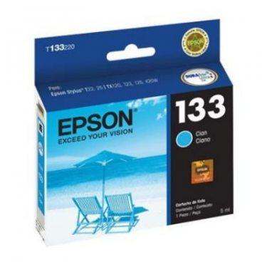 CARTUCHO DE TINTA EPSON 133 CIANO 5 ML ORIGINAL
