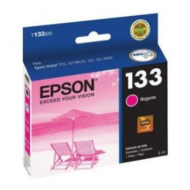 CARTUCHO DE TINTA EPSON 133 MAGENTA 5 ML ORIGINAL