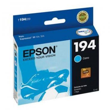 CARTUCHO DE TINTA EPSON 194 CIANO 3 ML ORIGINAL
