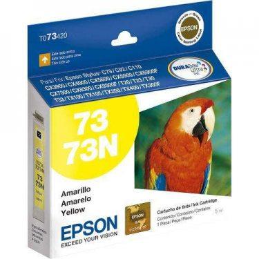 CARTUCHO DE TINTA EPSON AMARELO 73N 5 ML ORGINAL