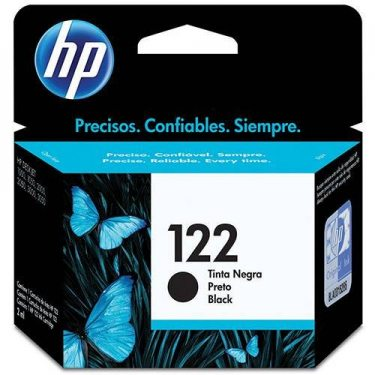 CARTUCHO DE TINTA HP 122 PRETO 2 ML ORIGINAL