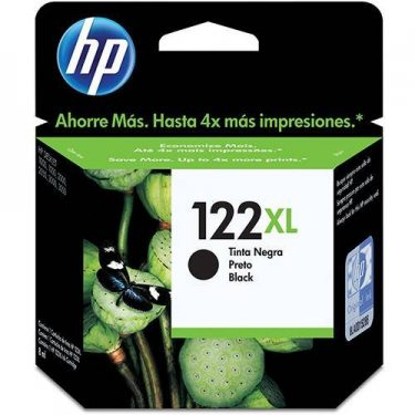 CARTUCHO DE TINTA HP 122 XL PRETO 8,8 ML ORIGINAL