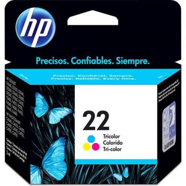 CARTUCHO DE TINTA HP 22 TRICOLOR 5 ML ORIGINAL