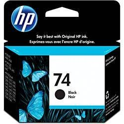 CARTUCHO DE TINTA HP 74 PRETO 5,5 ML ORIGINAL