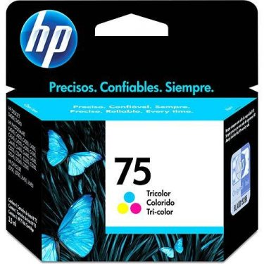 CARTUCHO DE TINTA HP 75 COLOR ORIGINAL 5,5ML
