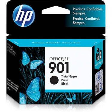 CARTUCHO DE TINTA HP 901 PRETO 4,5ML ORIGINAL