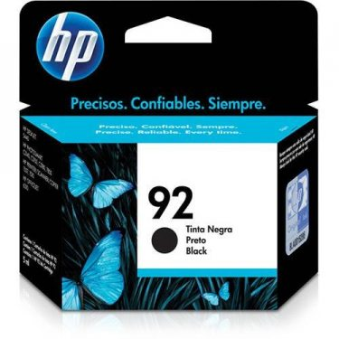 CARTUCHO DE TINTA HP 92 PRETO 5,5ML ORIGINAL