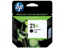 CARTUCHO HP 21XL PRETO 16ML ORIGINAL