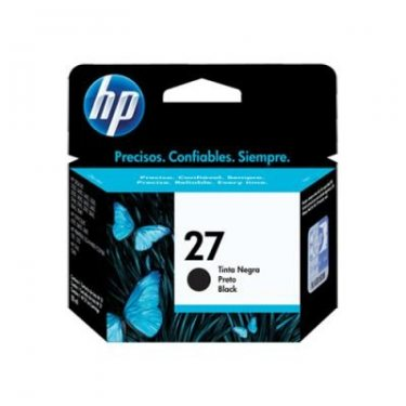 Cartucho de Tinta Hp 27 Preto 11ml Original