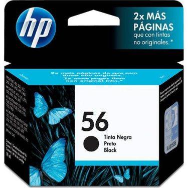 CARTUCHO DE TINTA HP 56 PRETO 19,5ML ORIGINAL