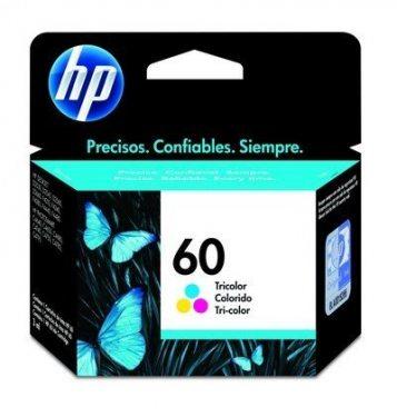 CARTUCHO DE TINTA HP 60 TRICOLOR 6,5ML ORIGINAL