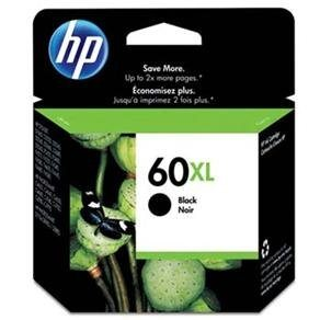 CARTUCHO DE TINTA HP 60 XL PRETO 13,5 ML ORIGINAL