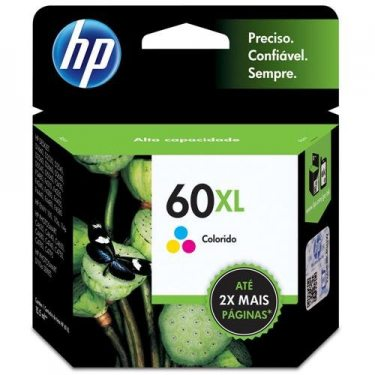 CARTUCHO DE TINTA HP 60 XL TRICOLOR 15,5ML ORIGINAL