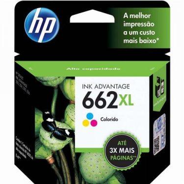 CARTUCHO DE TINTA HP 662 XL TRICOLOR 8.0 ML ORIGINAL