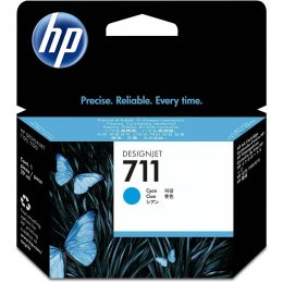 CARTUCHO HP 711 CIANO ORIGINAL