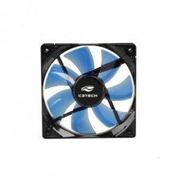 COOLER FAN P/ GABINETE 140X140X25 LED AZUL F7-L200BL C3TECH