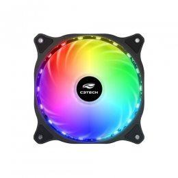 COOLER P/ GABINETE 120x120x25 18 LEDS RGB F9-L150RGB C3 TECH