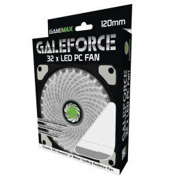 COOLER P/ GABINETE 120x120x25 32 LEDS BRANCO GMX-GF12W GAMEMAX
