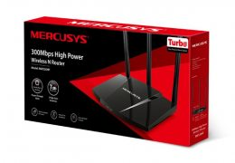 ROTEADOR HIGH POWER WIRELESS N300MBPS MW330HP 1000MW MERCUSYS