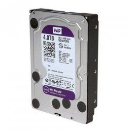 HD 4 TB SATA PURPLE WESTERN DIGITAL