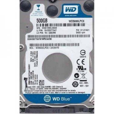 HD NOTEBOOK 500 GB WD