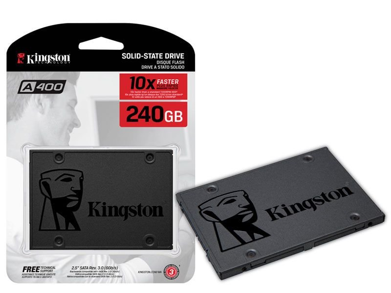 Hd Ssd 240 A400 Kingston