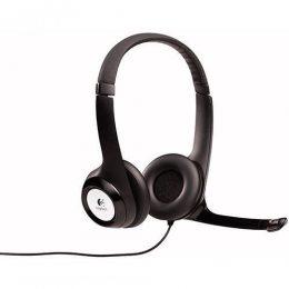 Headset C/ Microfone Usb H390 Logitech Preto
