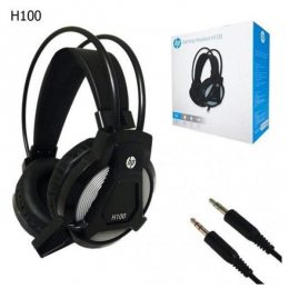 HEADSET GAMER PRETO P2 H100 HP