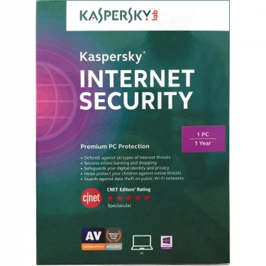 KASPERSKY INTERNET SECURITY 3 PCS - 1 ANO