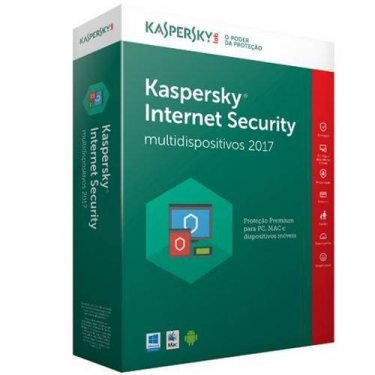 Kaspersky Internet Security  - 10 Pcs - 1 Ano