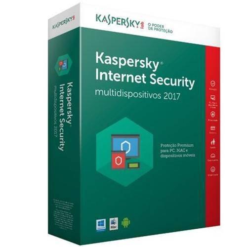 Kaspersky Internet Security  - 10 Pcs - 1 Ano