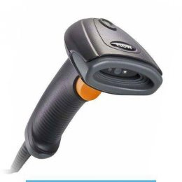 LEITOR CODIGO DE BARRAS C/BASE PRETO EL120 USB ELGIN
