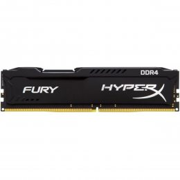 Memoria Desktop 4gb Ddr4 2400 Kingston Hyper X Fury Black