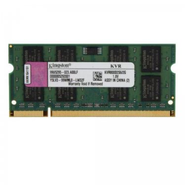 MEMORIA NOTEBOOK DDR2 2GB 800 KINGSTON