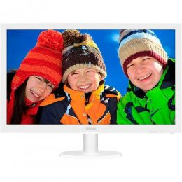 MONITOR PHILIPS 21,5 223V5LHSB2 LED FULL HD BRANCO