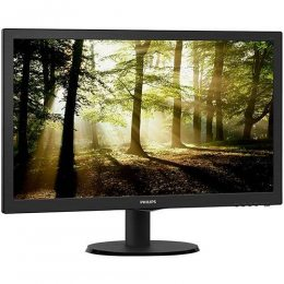 MONITOR PHILIPS 21,5 223V5LHSB2 LED FULL HD PRETO