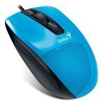 MOUSE DX-150X ERGONOMIC OPTICAL AZUL USB GENIUS