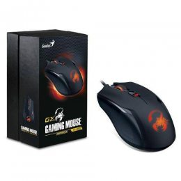 MOUSE GAMER AMMOX X1-400 PRETO USB GENIUS