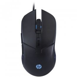 MOUSE GAMER PRETO LED 2400 DPI USB G260 HP