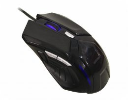 MOUSE OPTICO GAMING PRETO MO-G335 USB KMEX