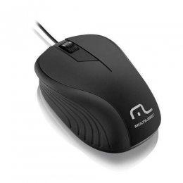 MOUSE OTICO 1200DPI PRETO USB MO222 MULTILASER