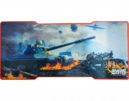 MOUSE PAD GAMER GAMING WAR TANK 800x350x3MM PRETO FX-X8135 K-MEX