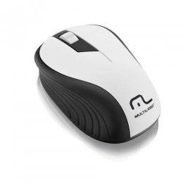 MOUSE SEM FIO 1200 DPI PRETO/BRANCO USB MO216 MULTILASER